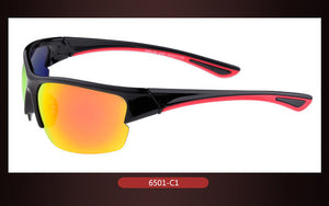 Sport Sun Glasses Driving Outdoor Wraps Mirror Cycle Sunglasses