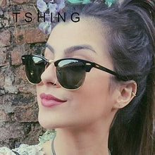 TSHING Classic Fashion Women Polarized Coating Sunglasses Driving UV400 Rays Mirror Sun Glasses