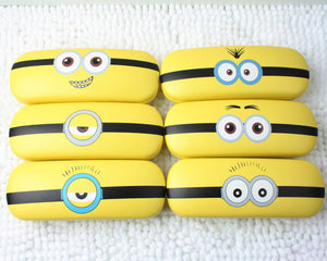 Minions Sunglasses Hard Leather Protector Sunglasses Box