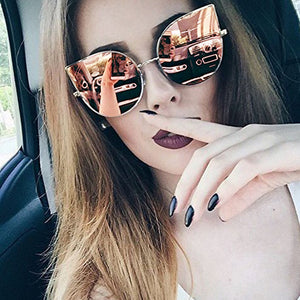 Gothic Cat Eye Sunglasses Women Retro Fashion