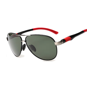 TSHING Mens Classic Big Aviation Polarized Sunglasses