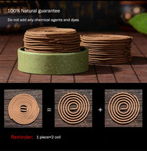 Natural Wormwood Incense Coil for Incense Burners