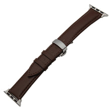 Genuine Leather Watchband Buckle Strap Replacement Band for Apple Watch