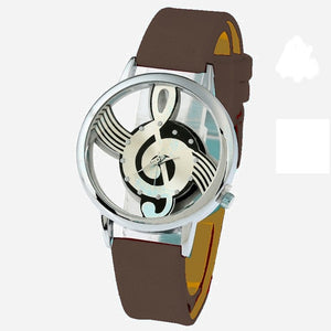 Melody Music Watch for Ladies Casual Quartz Wristwatch