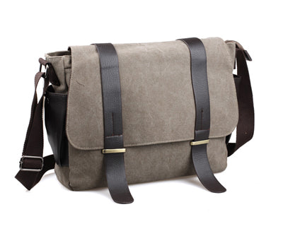 Canvas Messenger Bag Military Shoulder Bag Crossbody Bags