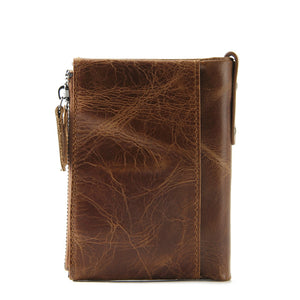 Cross OX Clutch Genuine Oiled Leather Wallet Coin Purse Card Holder