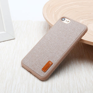 Fabric Phone Case For iPhone 7 / 7 Plus iPhone 6 6s Case for Apple iPhone 6 6s Plus