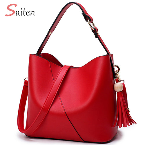Leather Bag Shoulder Bag Bolsa Feminina