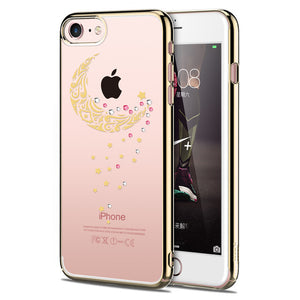 Diamond Case For iPhone 7 Back Case Anti- Scratch