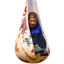 Kids Pod Swing Chair Hanging Hammock Nest for Indoor/Outdoor Use