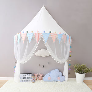 Circus Tent Children Play Cotton Canvas