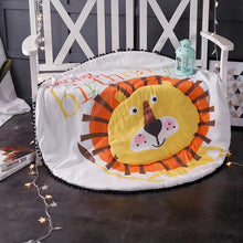 Cartoon Animals Lion Cat Bear Rabbit Pig Baby Play Mats