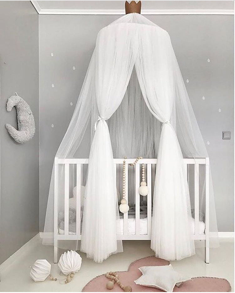 Hanging Sheer Canopy Bedding Round Dome Hanging Tent