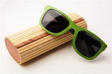 HINDFIELD Original Bamboo Sunglasses Case Wooden Felt Lined