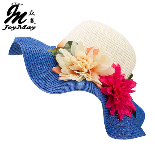 Fashion Mother Daughter Hat Wide Brim Floppy Summer Beach Hat
