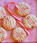 Peppermint Sugar cookies wax melt clamshell