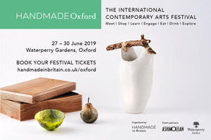 SAVE THE DATE - HANDMADE OXFORD - 27 - 30 JUNE 2019