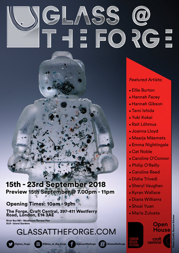 GLASS AT THE FORGE - 15-23 SEPTEMBER 2018