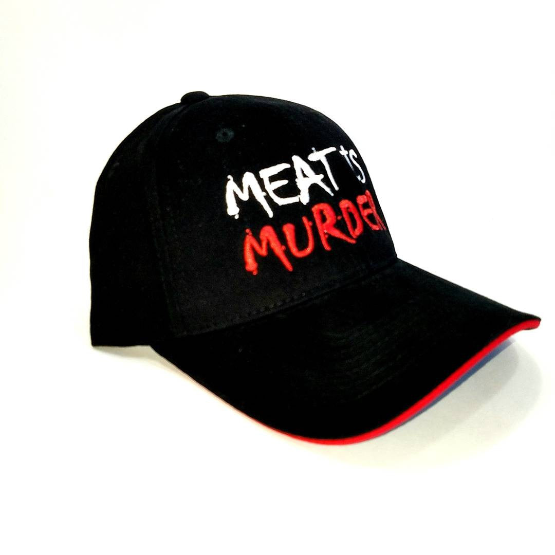 Vegan Hat - Meat is Murder Hat