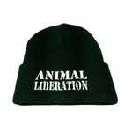 Vegan Hat - Animal Liberation Beanie