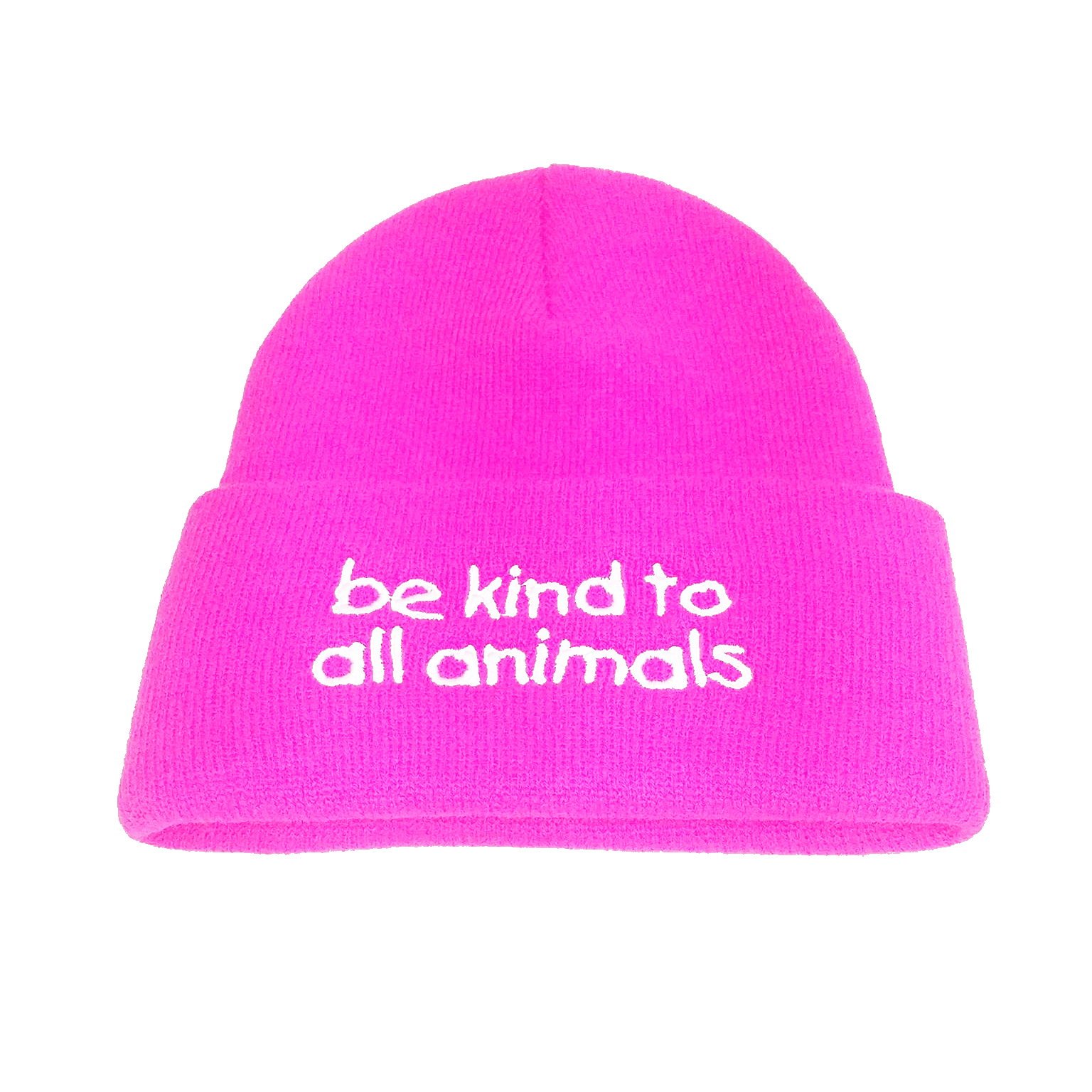 Be Kind to All Animals Beanie