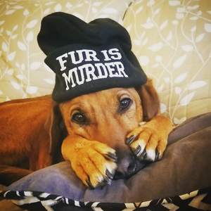 Fur is Murder Beanie