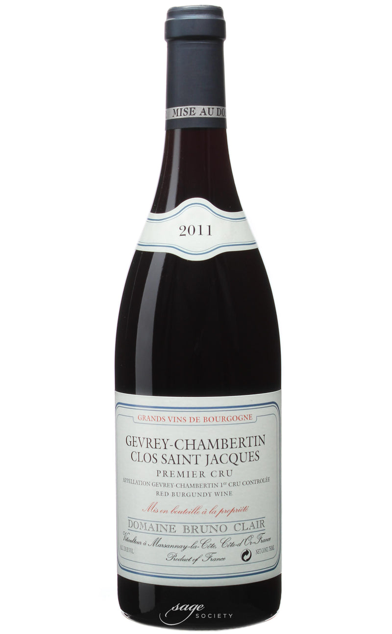 2011 Domaine Bruno Clair Gevrey-Chambertin 1er Cru Clos St. Jacques
