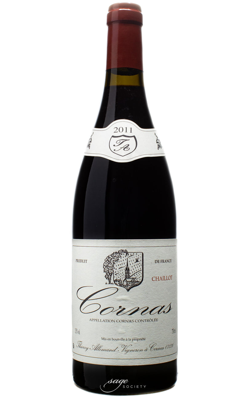 2011 Thierry Allemand Cornas Chaillot