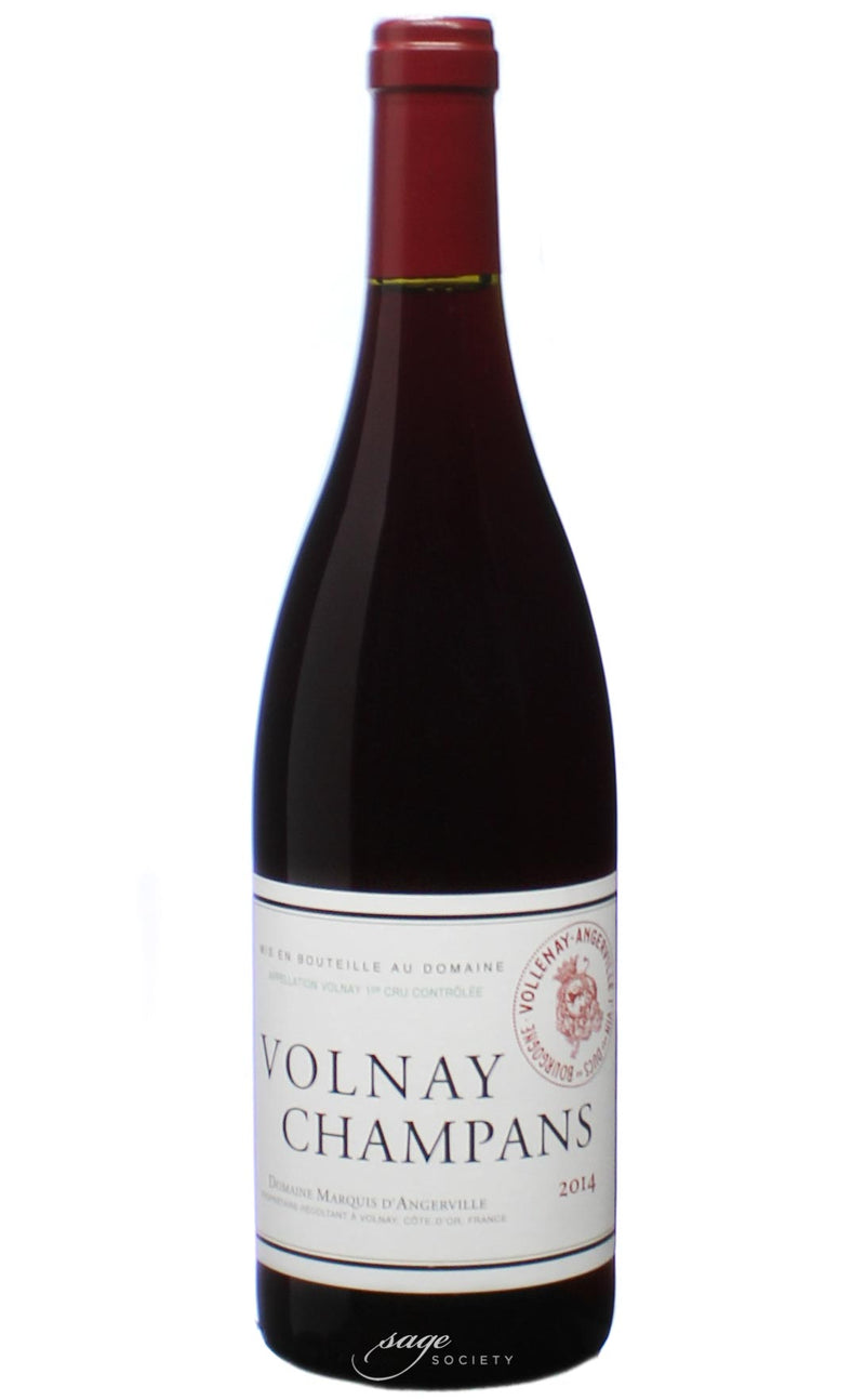 2014 Domaine Marquis d'Angerville Volnay 1er Cru Champans