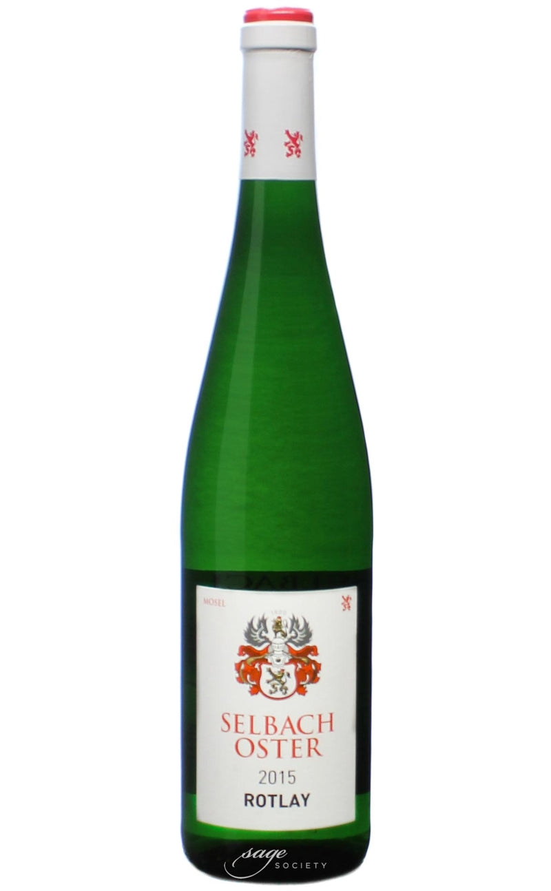 2015 Selbach-Oster Zeltinger Sonnenuhr Riesling Auslese 'Rotlay'