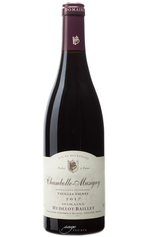 2017 Domaine Hudelot-Baillet Chambolle-Musigny Vieilles Vignes