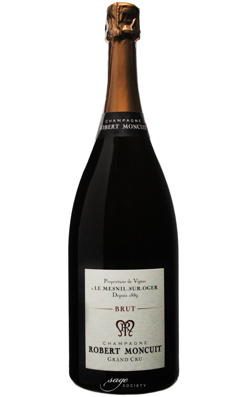 NV Robert Moncuit Champagne Grand Cru Blanc de Blancs Brut 1.5L (Disgorged Mar 2012)
