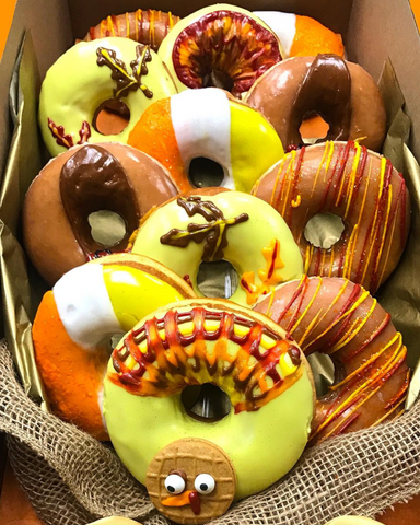 The Donut Bouquet shares donut bouquet gift ideas for holidays and celebrations