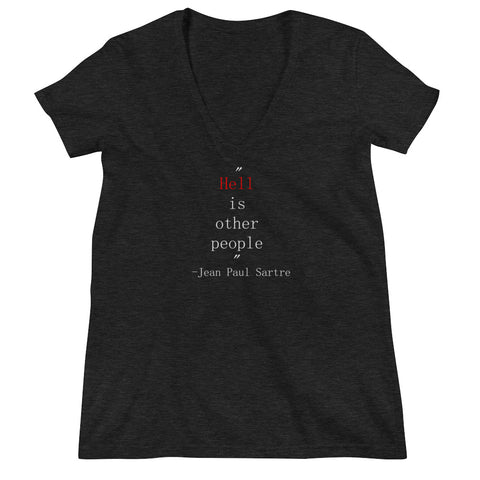 Philosophical Measures Women's Deep V-Neck
