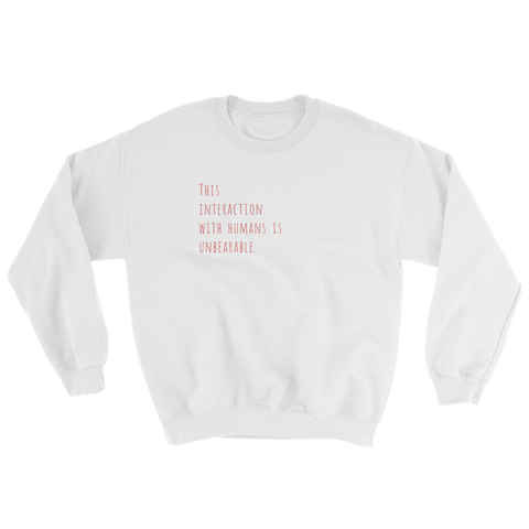 Social Terms Sweatshirt