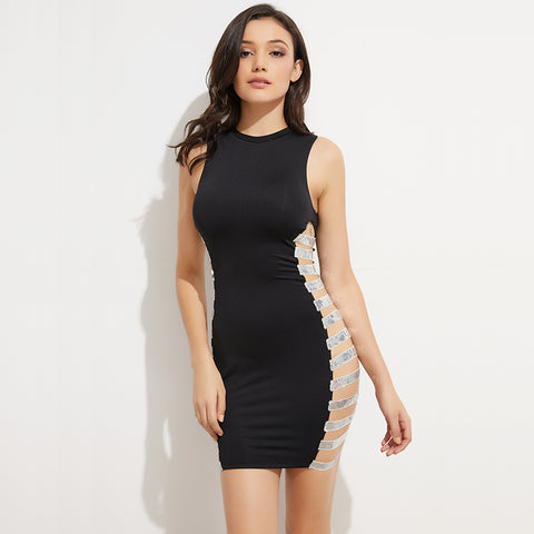 SELENE BLACK DRESS
