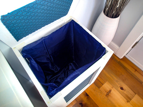 Leah Maria Designs DIY Laundry Baskets