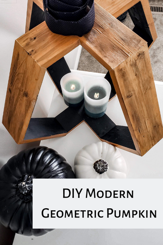 DIY Wooden Pumpkin