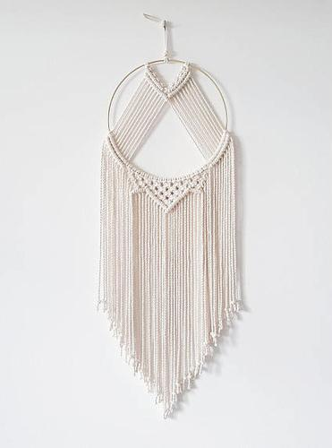 Natural Cotton Rope Macrame Wall Hanging