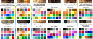 Colour selection based on coat colour