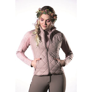 Quilted vest -Melody-