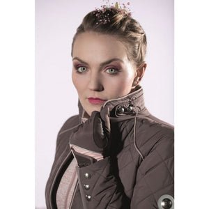 Quilted jacket -Melody-