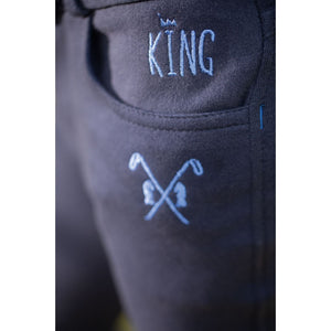 Riding breeches -Royal- silicone knee patch