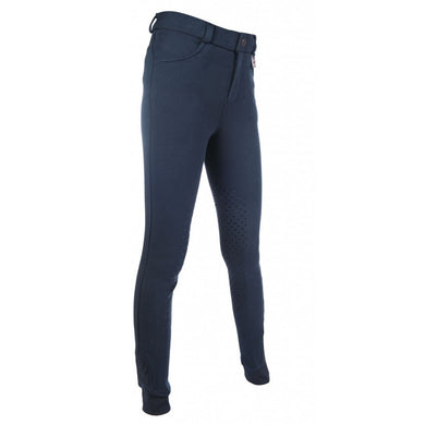 Riding breeches -Kids Slimline Easy- s. knee patch