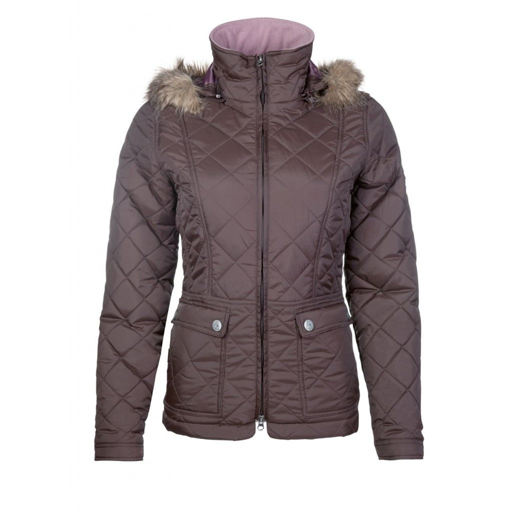 Quilted jacket -Velluto-