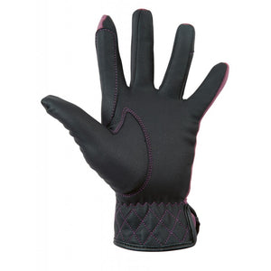 Softshell riding gloves -Velluto-