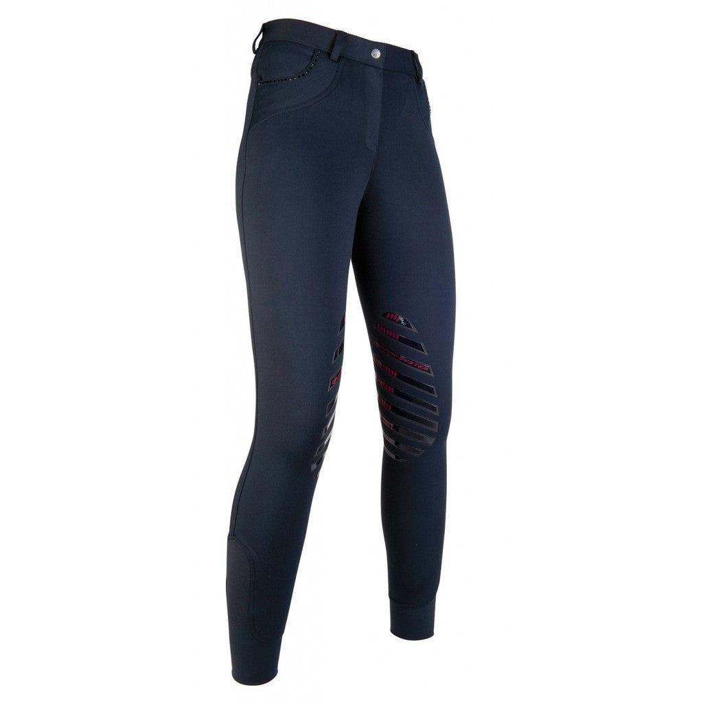 Riding breeches -KIA Grip Tech-silicone knee patch