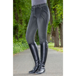 Riding breeches -Sedona- Denim silicone full seat