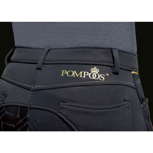 Softshell riding breeches -Pompöös-sil. full seat