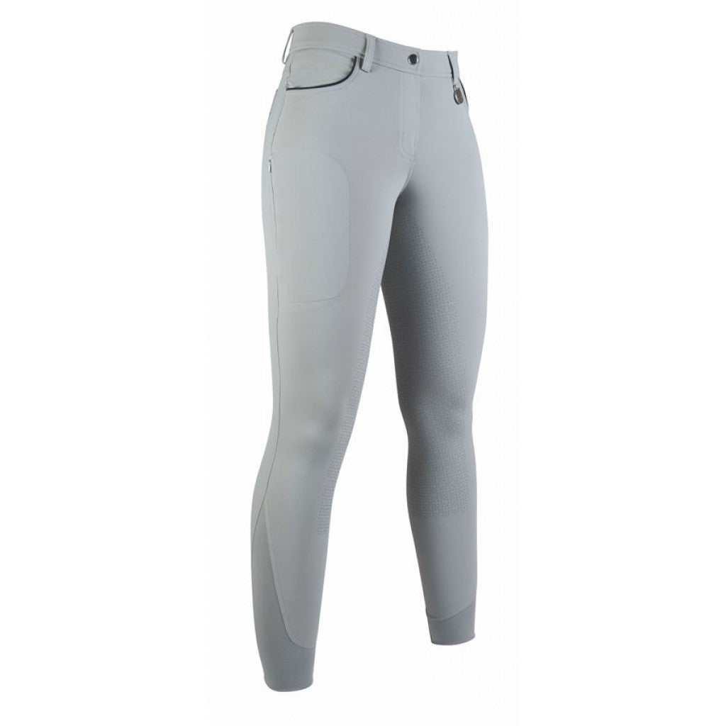 Riding breeches -Equilibrio- Style sil. full seat